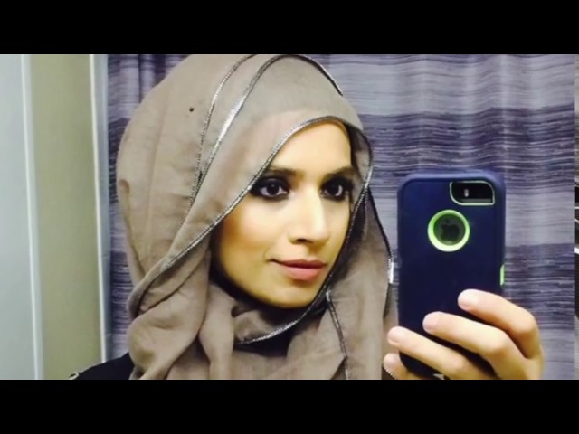 Simple And Easy Hijab Tutorial Arabian Style Youtube