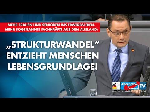 """""""Strukturwandel"""" entzieht Menschen Lebensgrundlage! - Tino Chrupalla"""