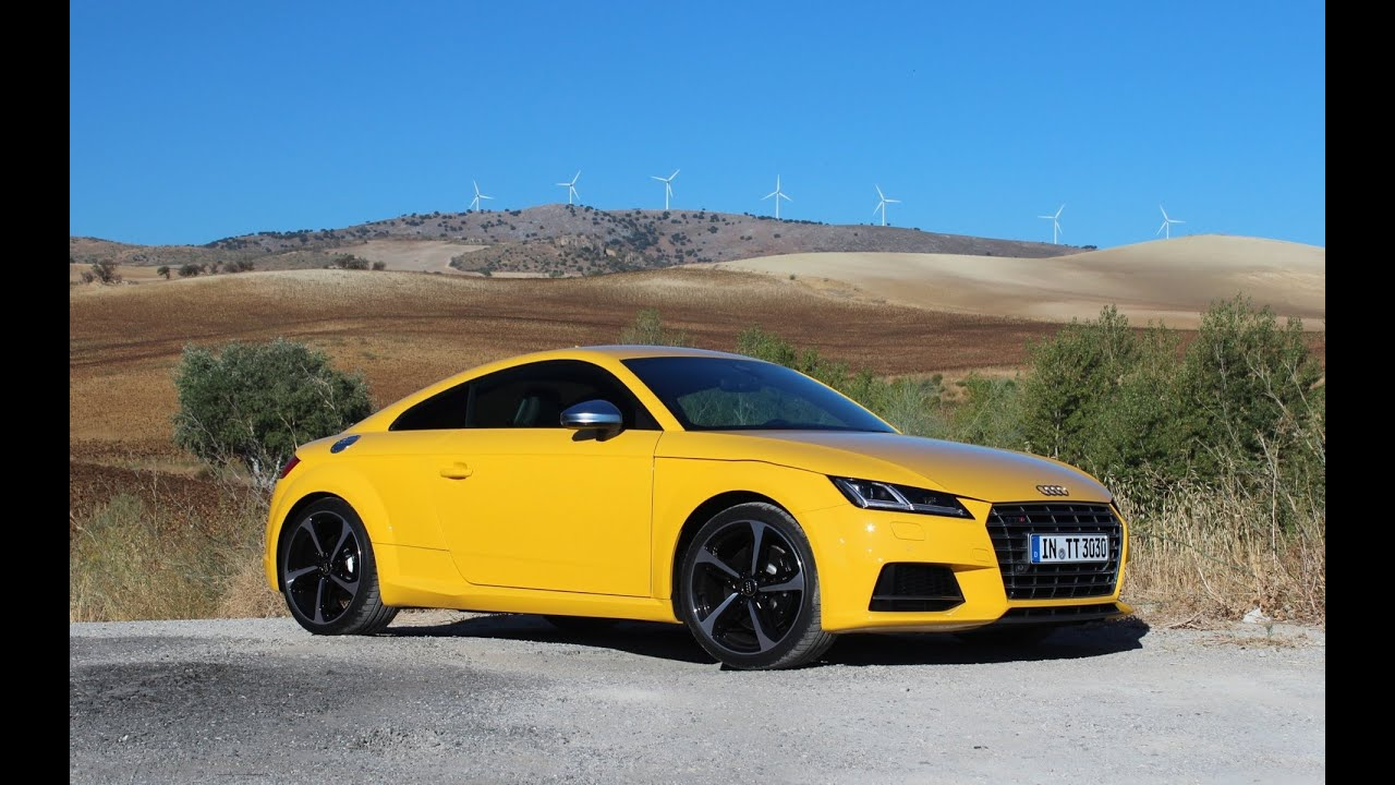 2016 Audi Tt Roadster First Drive Review Youtube