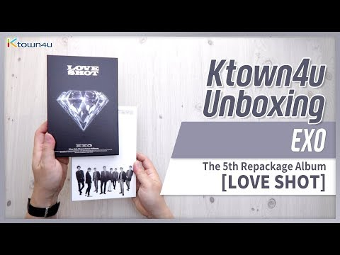 KPOP Ktown4u com : EXO - Repackage Album Vol 5 [LOVE SHOT