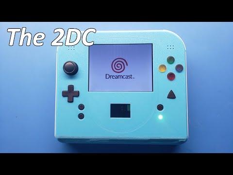 I'll Take This Custom Handheld Sega Dreamcast Over the