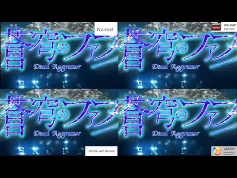 Anime at 24FPS/60FPS Compare - use Smooth Video Project(SVP