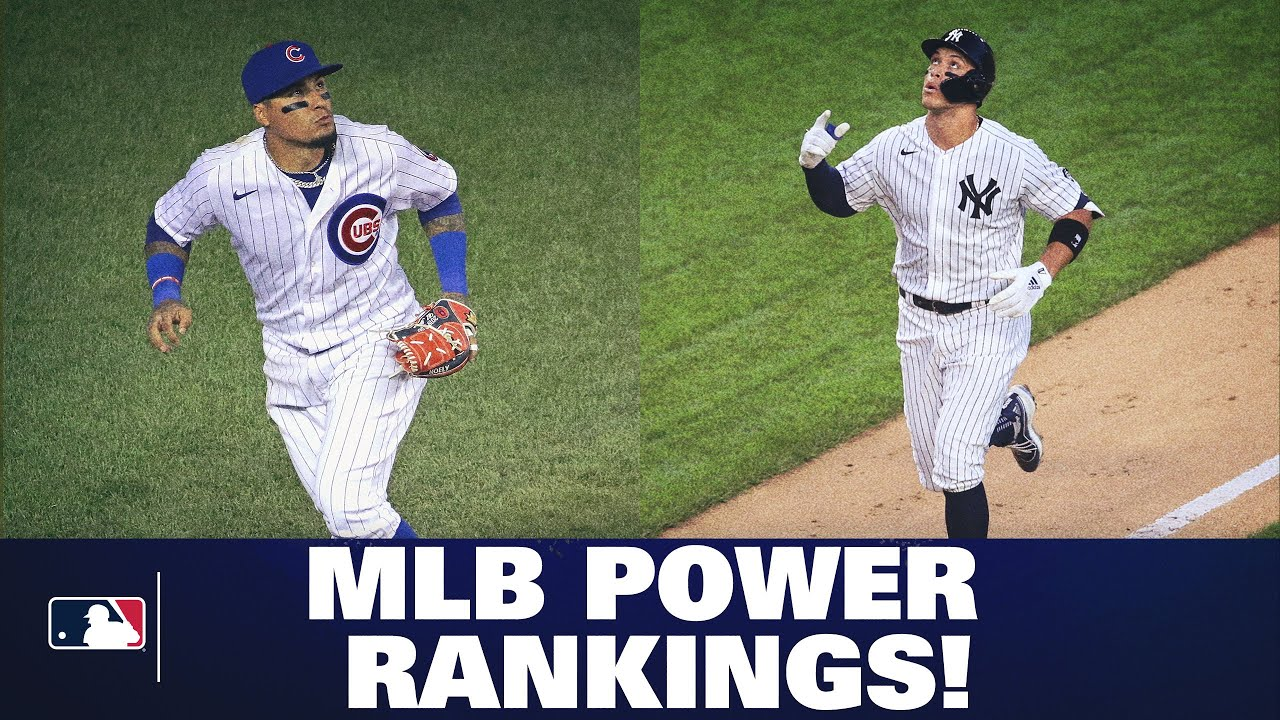 MLB Power Rankings (1/4th of the way through the season!) Where do the Cubs, Yankees, Dodgers stand?