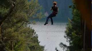 Kletterpark (AbenteuerWald) Enderndorf am Brombachsee Mai 2012 gefilmt mit Lumix GH2