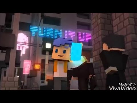 """Turn It Up"" [SPEED UP!!] Minecraft Song By CaptainSparklez"