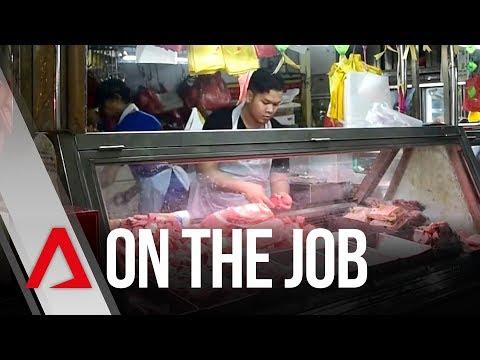 On The Job: Wet Market Butcher