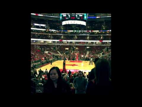 Entering the United Center