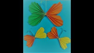 BUTTERFLIES made of paper/ KIDS DIY/ Easy paper arts and crafts for kids ages 5 and above