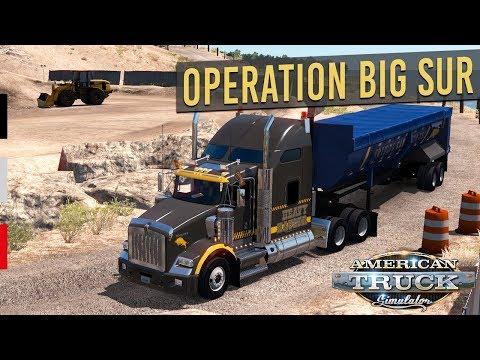 Big Sur Hafriyat Operasyonu! - American Truck Simulator Etkinlik!