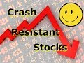Recession Resistant Stocks - What To Buy To Create a Market Crash Resilient Portfolio