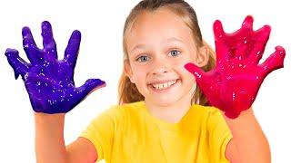 Песня для детей - Красим игровой домик | Детские песни от Майи и Маши