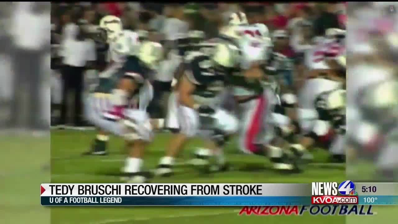 Former NFL star Tedy Bruschi recovering after second stroke