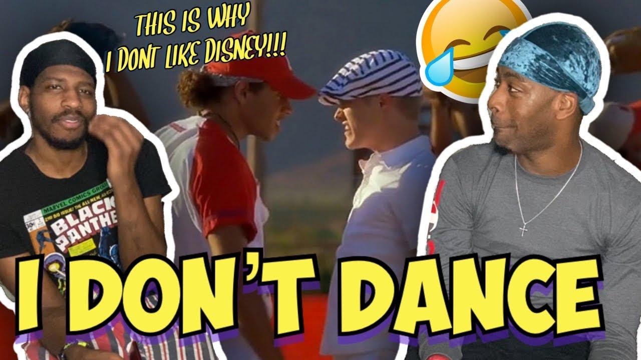 I Don't Dance | High School Musical 2 | Disney Channel (FUNNYREACTION)