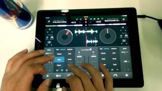 Schedule 1's Twerk mix with djay Pro (iPad)