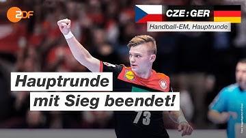 Tschechien - Deutschland 22:26 - Highlights | Handball-EM 2020 - ZDF