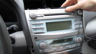GTA Car Kits - Toyota Camry 2007-2011 install of iPhone, Ipod and AUX adapter for factory stereo