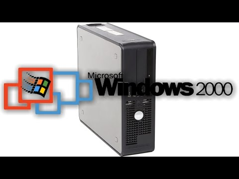 Windows 2000 on the Dell Optiplex 755!