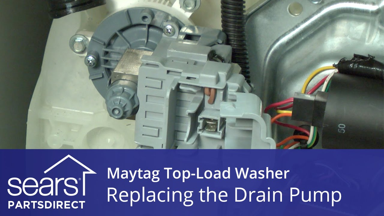 How To Replace The Drain Pump On A Maytag Vertical Modular Washer  Vmw