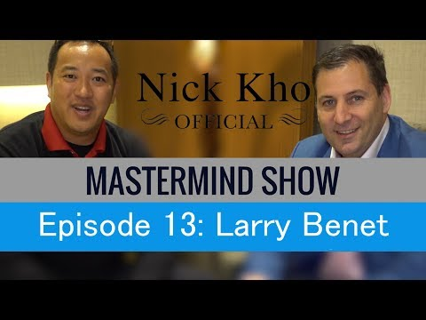 Larry Benet | Discover The Most Powerful Connection Strategies