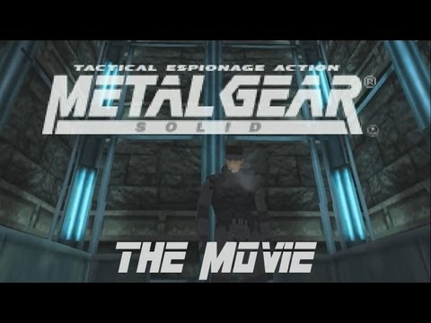Metal Gear Solid - The Movie [HD] Full Story