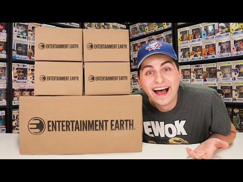 Entertainment Earth Sent Over A HUGE Package of Funko Pops!