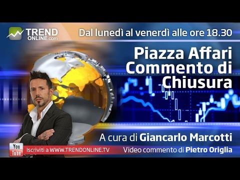 Wall Street e Petrolio spingono Milano al rialzo