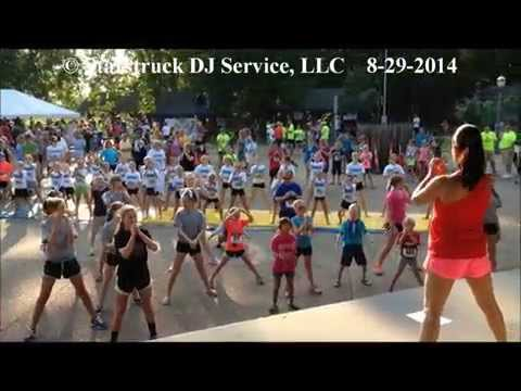 Heartland Kids Fun Run 2014 @ Jasper, Indiana. Starstruck DJ Service, LLC
