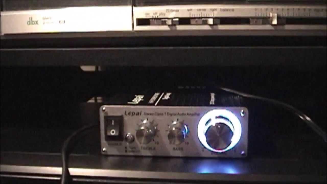 Lepai Lp 2020a Class T Amplifier Youtube Lp2020a Tripath Classt Hifi Audio Mini With Power Supply