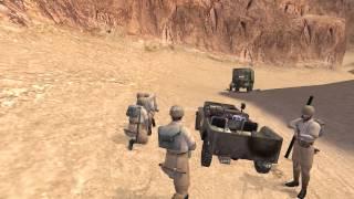 Hidden and Dangerous 2 Sabre Squadron walkthrough: mission 3: Op. Heat - Snake Bite [HD]