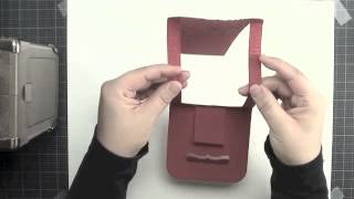 Local King Rubber Stamp Tutorial #22 How To Create An Easel Card