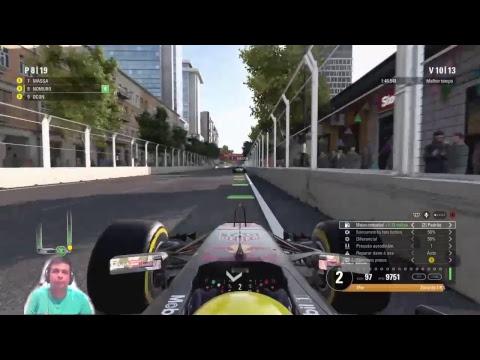 F12017 | MODO CARREIRA | RED BULL RACING | RBR | BAKU TEMPORADA 2