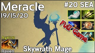 Support Meracle  Skywrath Mage - Dota 2 Full Game 7.17