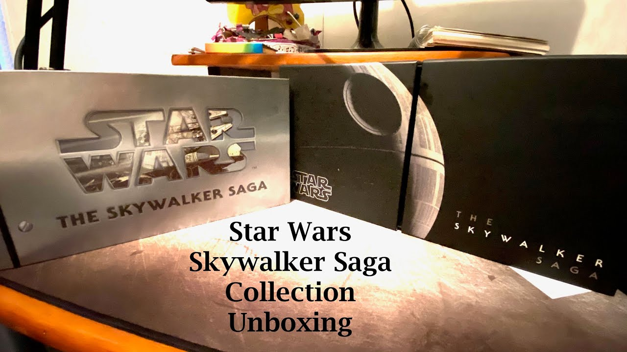Download Unboxing Skywalker Rise and Saga Collection