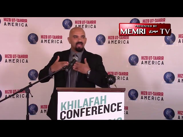 Haitham Ibn Thbait of U.S. chapter of Hizb-ut-Tahrir Warns Muslims of Perils of Western Democracy