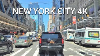Driving Downtown - NYC Summer Drive 4K - USA