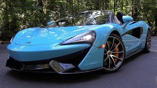 2018 McLaren 570S Spider: Start Up, Test Drive & In Depth Review
