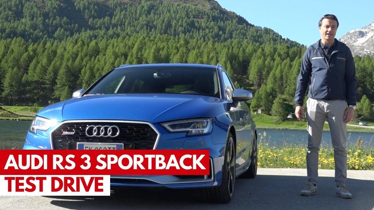 Audi Rs3 Sportback Test Drive Della Sportiva Compatta Degli Anelli