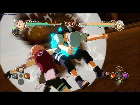 Naruto Shippuden: Ultimate Ninja Storm 2 [HD] - Sakura Vs Kabuto