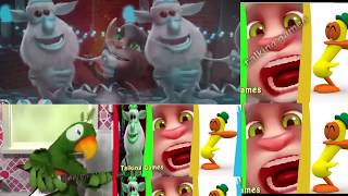 Games Kids Colors Friend Pato and Рierre for Children Youtube Booba and Talking Tom