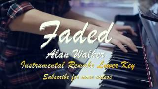 Alan Walker - Faded Instrumental (Lower Key)