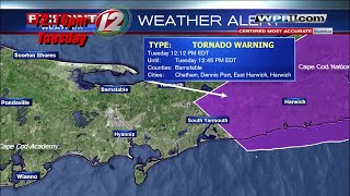VIDEO NOW: A tornado causes damage on Cape Cod