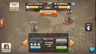 "Clan war against "" OI GAMIADES "" 3 stars⭐️⭐️⭐️ to th9 