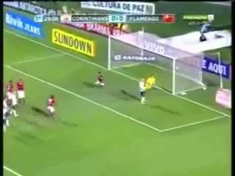 Gol de Renato Santos - Flamengo 1 Corinthians 0 Brasileirao 10/10/2012