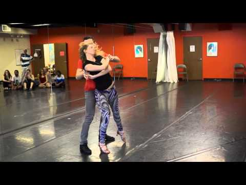 "Alisson Sandi & Audrey Isautier - Cool Moves Zouk Workshop in Atlanta - ""Hello"""