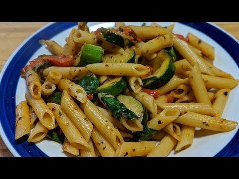 zucchini-pasta-|-torai-pasta-|-ghiya-pasta-recipe-|-quick-zucchini-&-cherry-tomatoes-pasta-|-ep-239