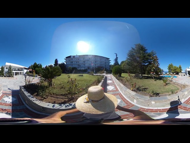 A 360 walk around Alexander the Great Beach Hotel. Halkidiki - Greece