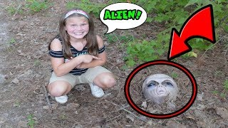 Aliens In Our Woods! Something Strange is Happening! Alien Invasion Skit