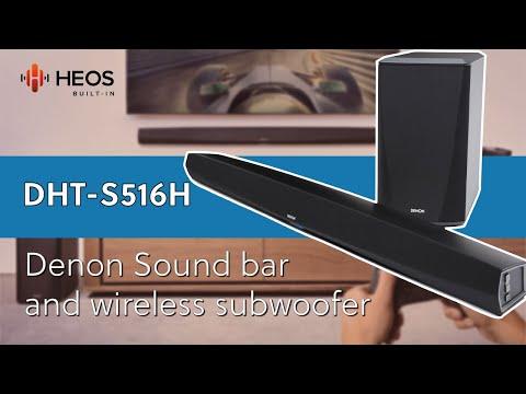 The Denon DHT-S516H 2.1ch Soundbar