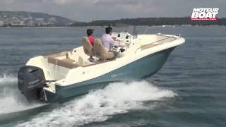 JEANNEAU Cap Camarat 7.5 CC - Essai moteurboat.com