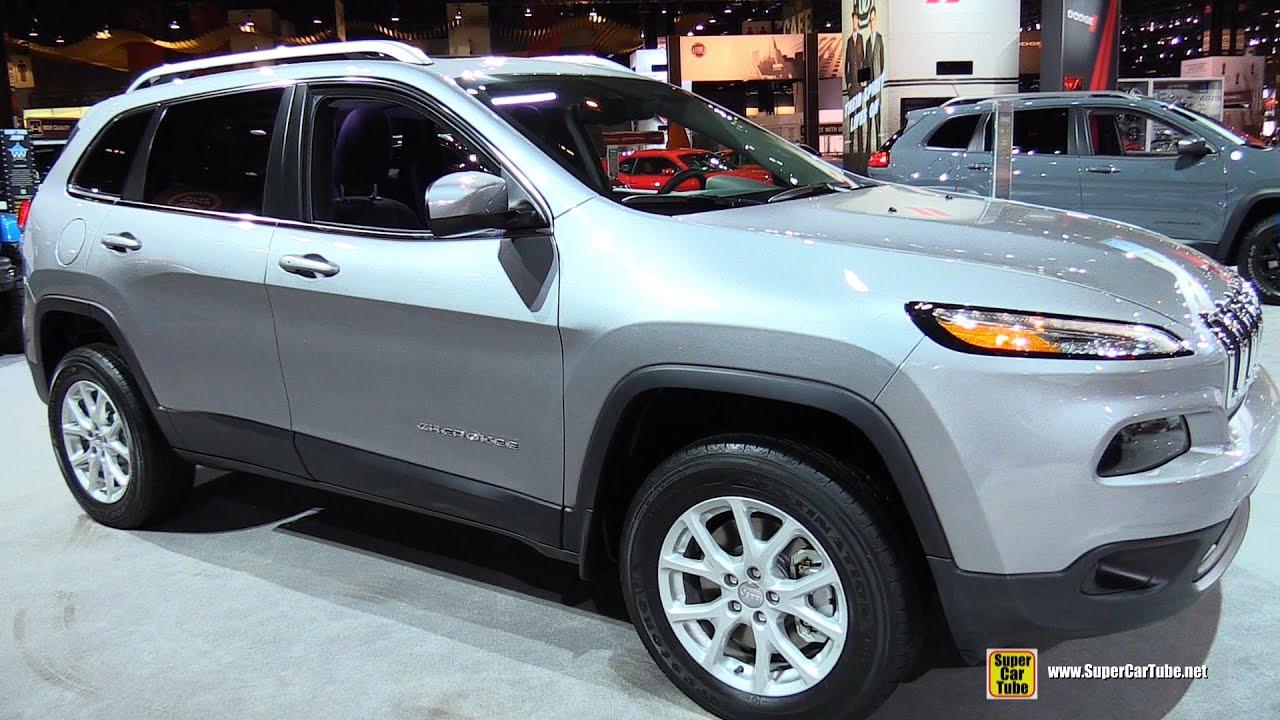 2015 Jeep Cherokee Latitude 4WD   Exterior And Interior Walkaround   2015  Chicago Auto Sh   YouTube